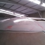roof first highbuild sanded and wet down starboard front 2