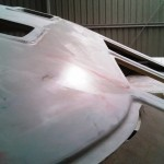 roof first highbuild sanded and wet down starboard front 5