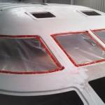 windows plastic sealed