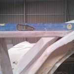 sheeting point mounted level
