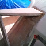 sheeting points glued in starboard