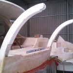davits glued in 3