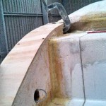curved step side top glued down