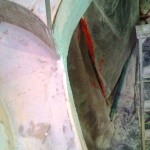 port davit front fairing