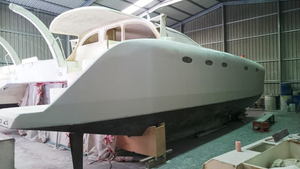 starboard hull microsurfaced 2