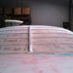 cabin roof final sand before high build 2