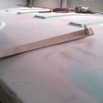 curved sanding board