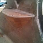 roof step underside dry fit