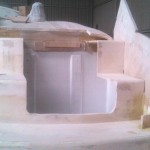 starboard engine bay lid cut out