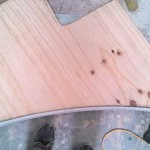 batten shaping step front