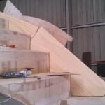 starboard step inside side panel cut