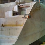 starboard step outside side panel cut