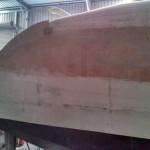 starboard steps outside side panel cut