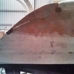 starboard steps outside side panel cut 2