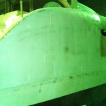 starboard hull first section bogged 2