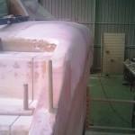 starboard step transition sanded