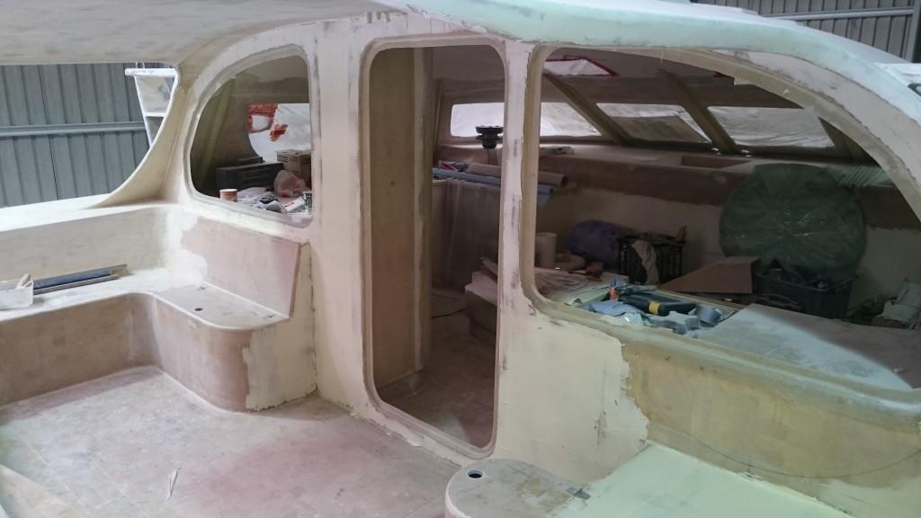 cockpit bogged
